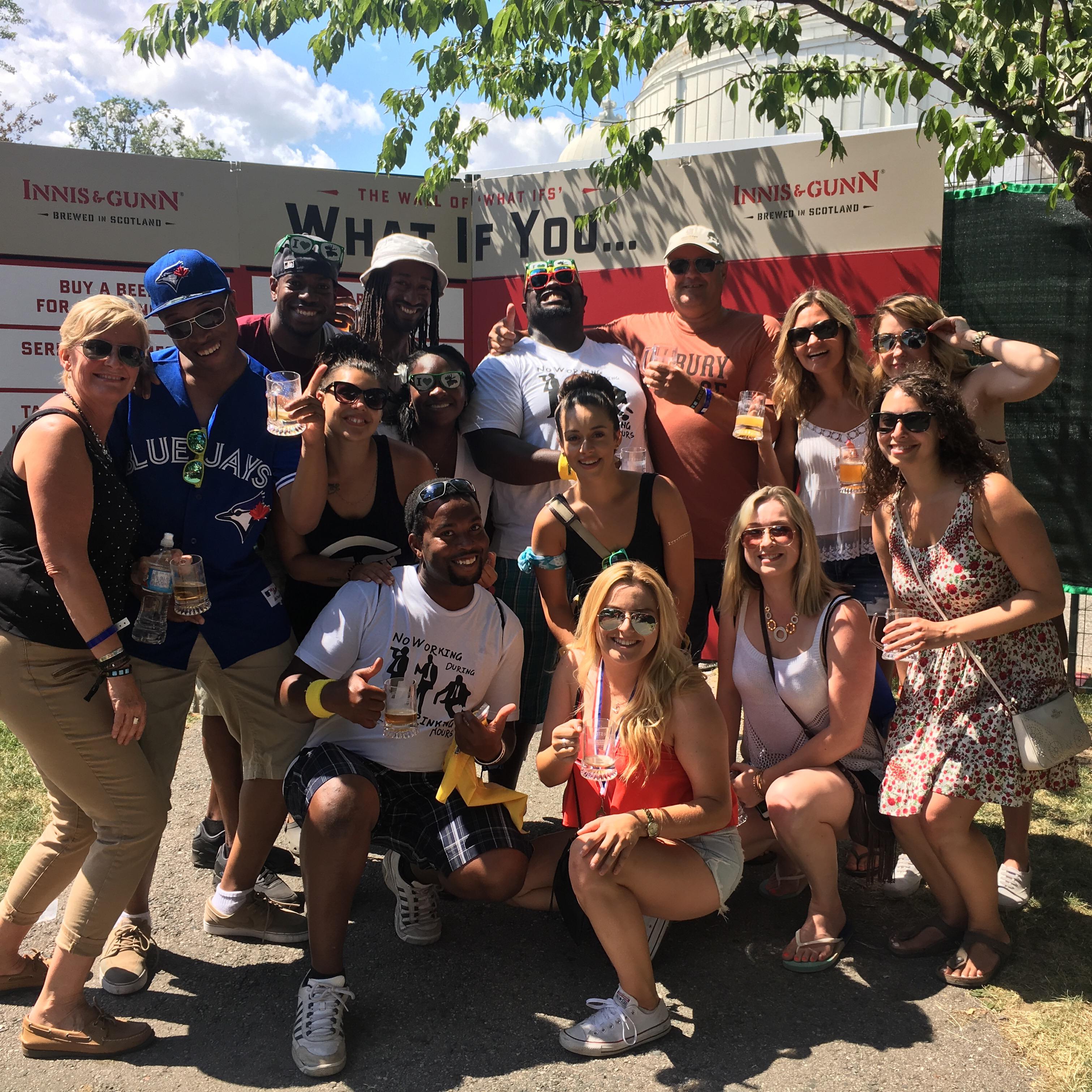 Toronto Beer Fest group moosehead